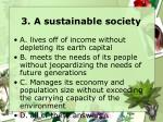 3 a sustainable society