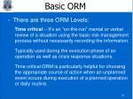 basic orm14