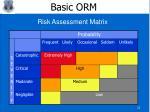 basic orm17