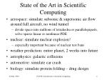 state of the art in scientific computing