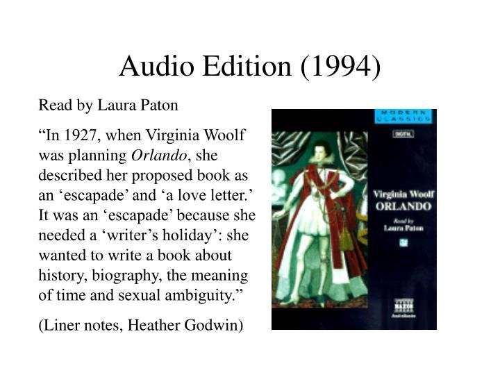 Audio Edition (1994)