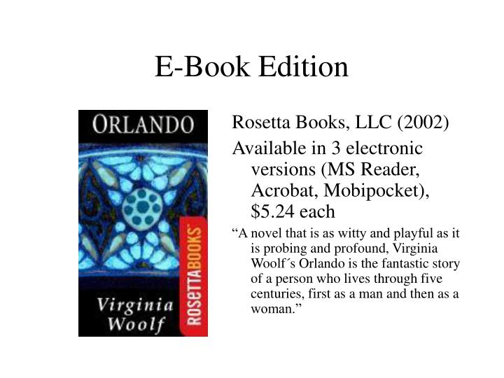 E-Book Edition
