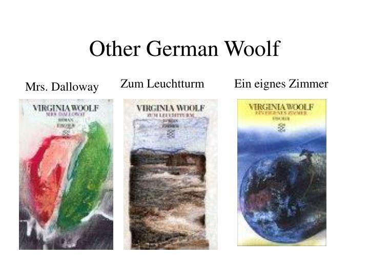 Other German Woolf