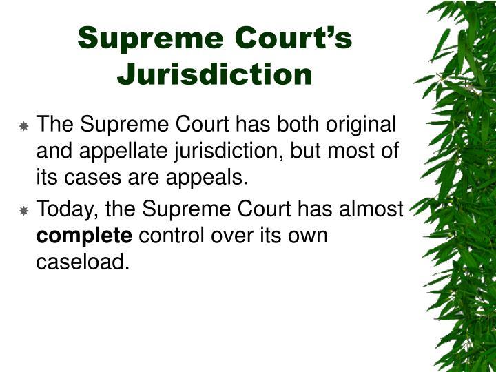 Supreme Court's