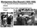 montgomery bus boycott 1955 1956
