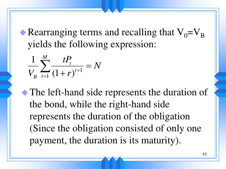 Rearranging terms and recalling that V