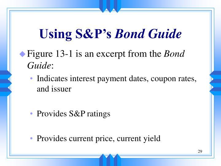 Using S&P's