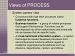views of process