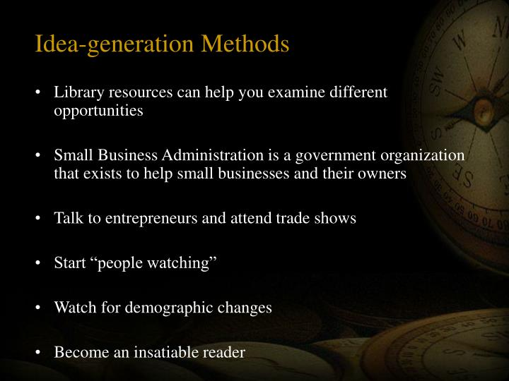 Idea-generation Methods