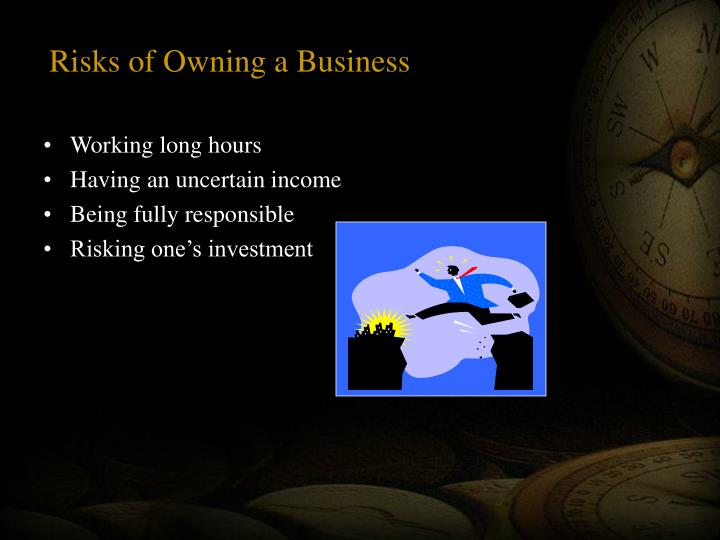 Risks of owning a business