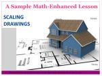 a sample math enhanced lesson