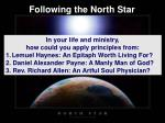 following the north star1
