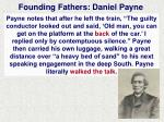 founding fathers daniel payne1