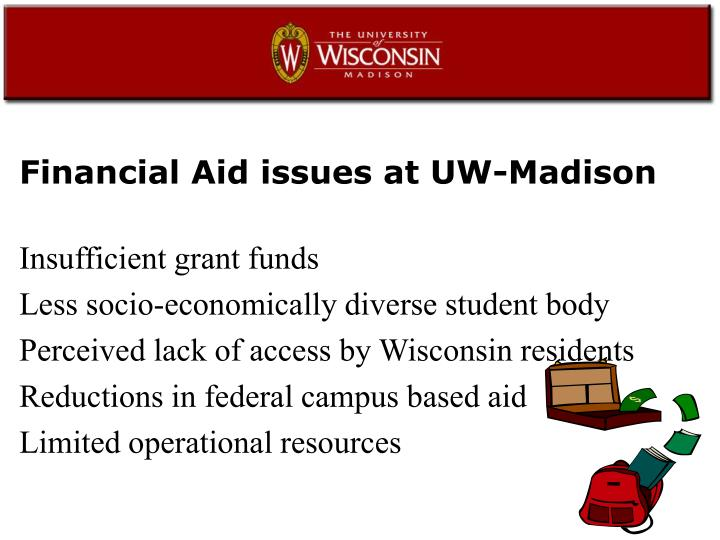 Financial Aid issues at UW-Madison