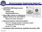 service inventory engineering approach