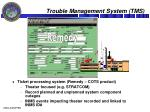 trouble management system tms