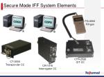 secure mode iff system elements