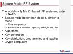 secure mode iff system