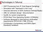 technologies in tellumat