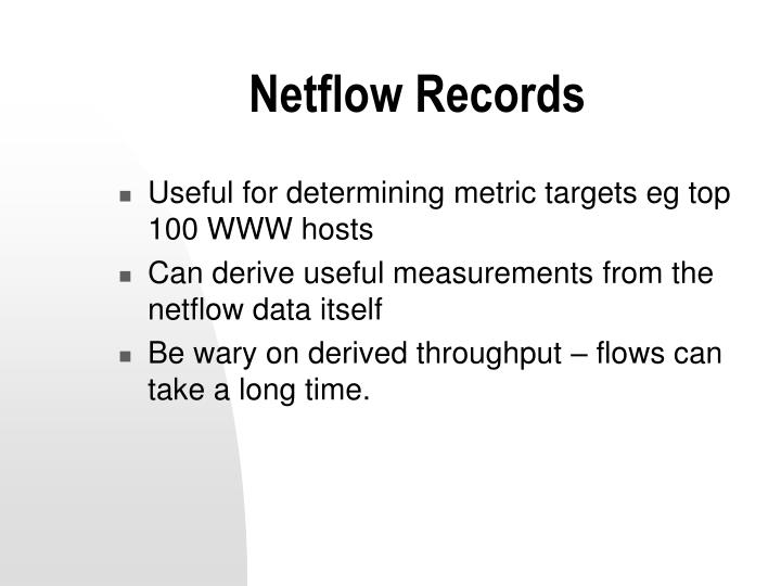Netflow Records