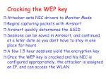 cracking the wep key