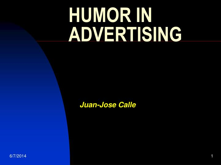 humor in advertising n.