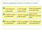 active grammar present perfect simple1