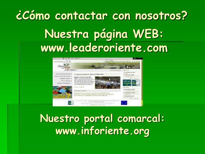 Nuestra página WEB: