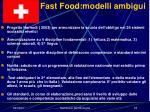 fast food modelli ambigui