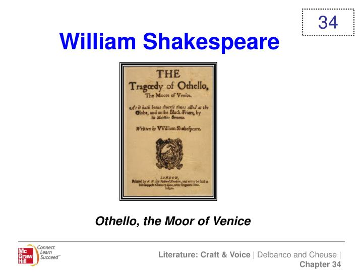 a analysis of the tragedy of othello by william shakespeare
