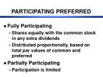 participating preferred