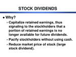 stock dividends1