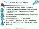 componentes software