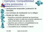 ejemplos compatibilidad entre protocolos i