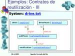 ejemplos contratos de reutilizaci n iii