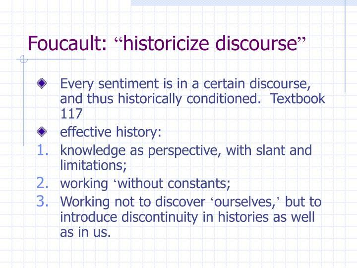 Foucault: