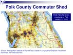 polk county commuter shed