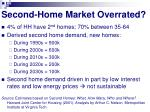 second home market overrated