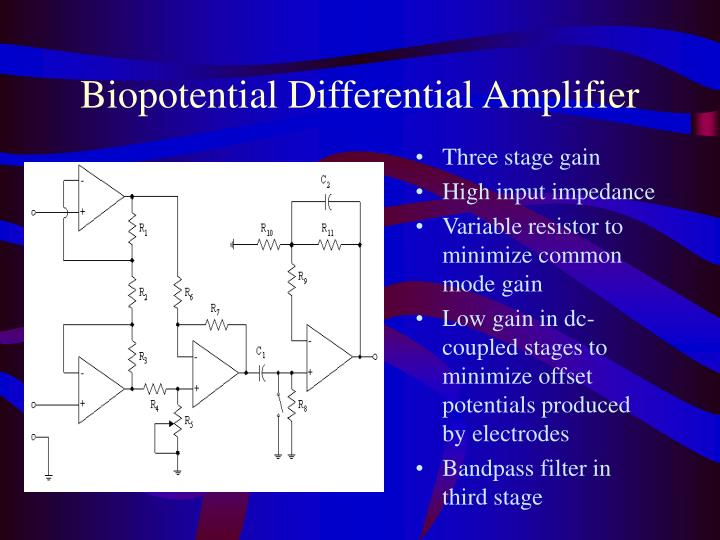 Biopotential Differential Amplifier