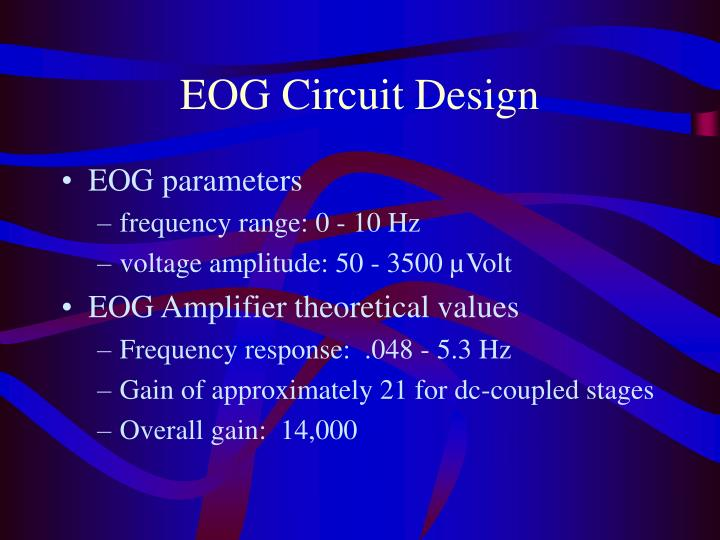 EOG Circuit Design