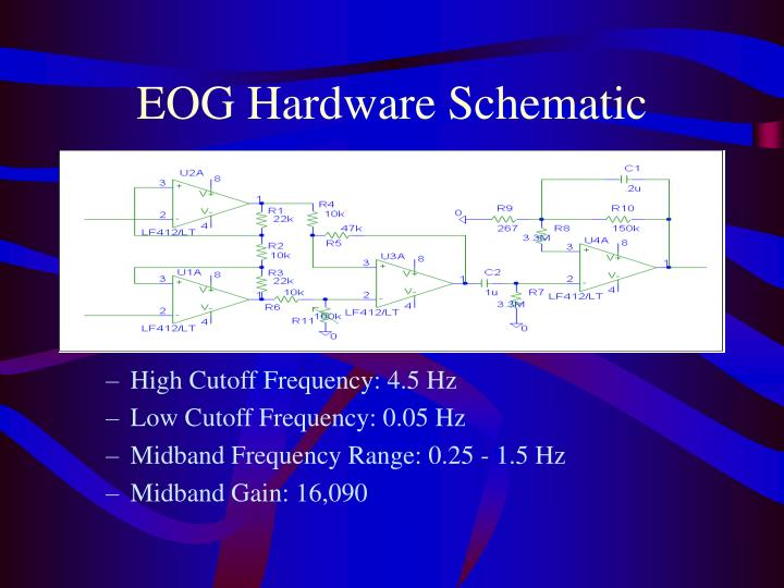 EOG Hardware Schematic