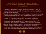 evidence based research 2 12 moist heat packs