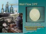 ceramic wall flow dpf