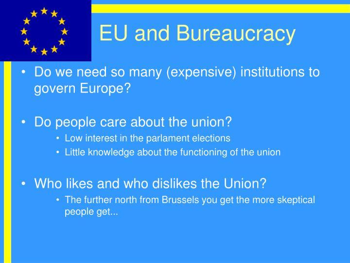 EU and Bureaucracy