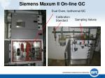 siemens maxum ii on line gc