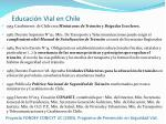 educaci n vial en chile