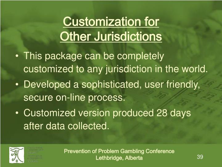 Customization for