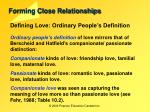 forming close relationships7