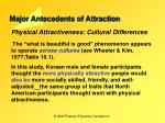 major antecedents of attraction23