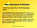 major antecedents of attraction3